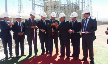 Ministro de Energía junto a Intendente inauguraron Ampliación de  Subestación Calama