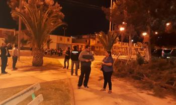 4°Visita a Terreno Recambio de Alumbrado Público Peatonal en Arica