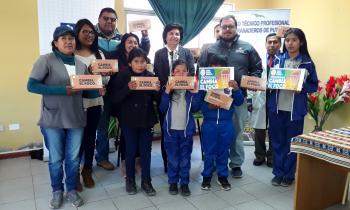 """Programa """"Cambia el Foco"""" llega a Parinacota y Completa su Ejecución 2018"""