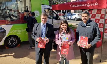 Seremi de Energía junto a Chilquinta activaron campaña de seguridad por Fiestas Patrias