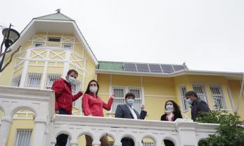 Programa del Ministerio de Energía permitirá que 73 jardines infantiles del país puedan generar su propia energía