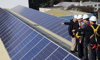 Subsecretario de Energía inaugura Techo Solar del Hospital Regional de Concepción