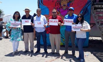 """Seremi de Energía Apoya la """"No Violencia Contra La Mujer"""""""