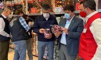 Subsecretario de Energía y Superintendente de la SEC llaman a comprar y utilizar guirnaldas navideñas certificadas
