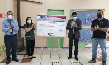 Jardines infantiles del Biobío contarán con sistemas solares fotovoltaicos