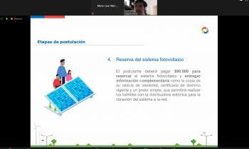 Seremi de Energía de Aysén informó sobre beneficios y financiamiento para el uso de energías renovables y la...