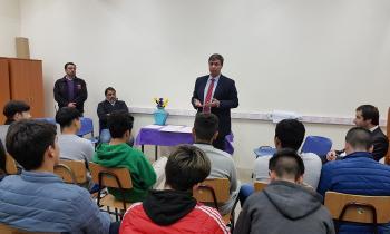 Jóvenes del Centro de Internación Provisoria y Régimen Cerrado de Limache se capacitan en temáticas de Energía