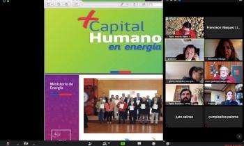 """Tercera Mesa """"+Capital Humano en Energía"""" sesiona vía online con fuerte impulso en el desarrollo productivo"""