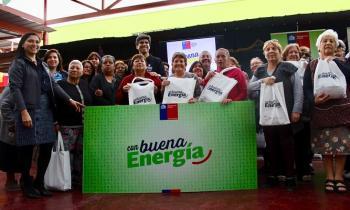 Más de 180 vecinos de Iquique son beneficiados con el programa Con Buena Energía
