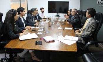 Autoridades de Tarapacá coordinan esfuerzos para enfrentar robo de conductor eléctrico