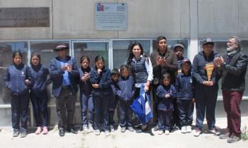 Escuelas de Colchane se abastecen con Energía Renovable