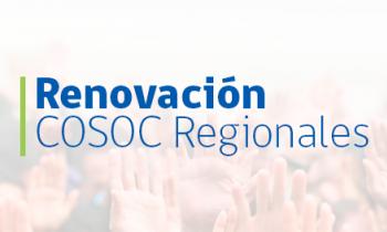 Se inicia proceso de renovación de los Consejos Regionales de la Sociedad Civil