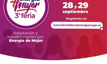 Seremi de Energía de Aysén invita a participar en la 3° Feria Energía + Mujer 2021