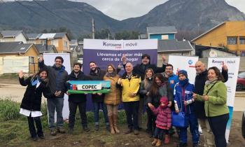 Comenzó el funcionamiento del equipo móvil de distribución de Kerosene en la zona alta de Coyhaique