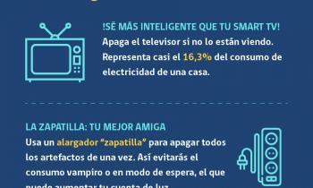 #CuidaTúEnergía es la Campaña de Eficiencia Energética del Ministerio de Energía que busca que las familias ah...