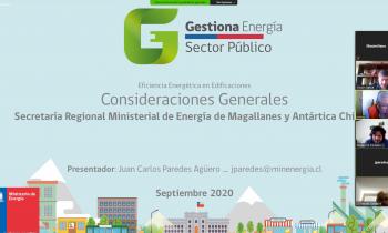 Secretaría de Energía de Magallanes apoyó capacitación que Gestores Energéticos realizaron a funcionarios de S...