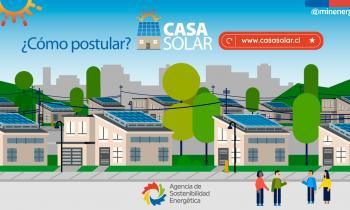 Seremi de Energía de Los Lagos llama a las familias de Puerto Montt a postular al programa Casa Solar