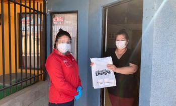 Familias de Diego de Almagro recibieron kit de ahorro energético