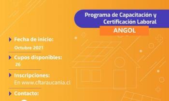 Energía y CFT Araucanía ofrecen curso gratis y certificado para instaladores solares en Malleco