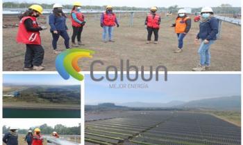PROYECTO DE ENERGÍA SOLAR DE COLBÚN LIDERADO POR MUJERES