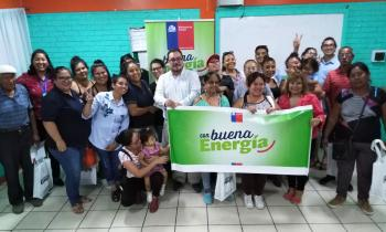 """Vuelve el Programa """"Con Buena Energía"""" beneficiando a vecinos de la Región"""