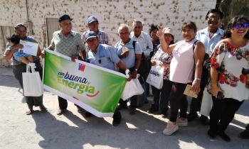 """Programa """"Con Buena Energía"""" sigue aumentando beneficiarios en sectores rurales de la Región"""