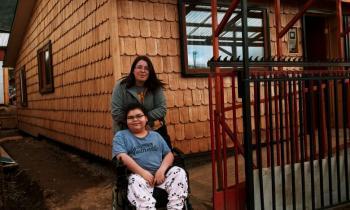 Rehabilitación energética de viviendas cambió la vida de 17 familias de Coyhaique