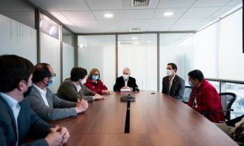 Presidente Piñera junto a Ministro Jobet lanzan descuento en la tarifa eléctrica de calefacción para Rancagua,...