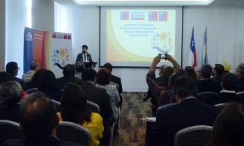 Chile y Argentina intercambian experiencias para consolidarse como líderes en energías renovables no convencio...