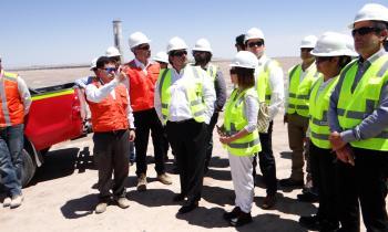 Complejo Solar Cerro Dominador reactiva su construcción