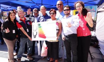 Con didáctica feria en pleno centro de Antofagasta la Seremi de Energía junto a la SEC celebraron el  día Mund...