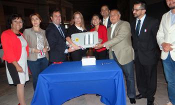 Subsecretaria de Energía inauguró moderno alumbrado público LED en Calama