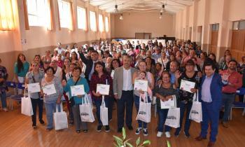 200 familias de Chiguayante reciben kits de eficiencia energética