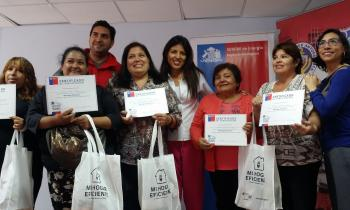 Con capacitación en temas de  Eficiencia Energética Seremi de Energía cerró celebración por el mes de la Mujer