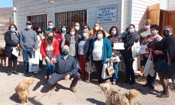 Familias de El Hinojal y Bellavista se capacitan para ahorrar energía