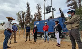 Disponen de generadores eléctricos en el Valle de Elqui