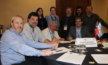 Seremis de Energía de Aysén y Magallanes lideraron mesa sectorial en INAUS 2018