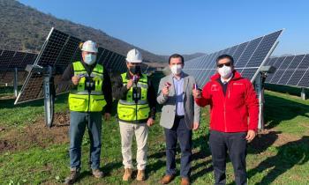 Delegado Presidencial Regional y Seremi de Energía inauguran Parques Solares Fotovoltaicos en Chimbarongo y San Vicente TT