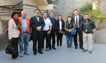 Seremi de Energía de Arica y Parinacota Asiste a charla Magistral de Geotecnia
