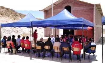 En Murmuntani, comuna de Putre, se desarrolló el último Gobierno en Terreno del presente año de la Gobernació...