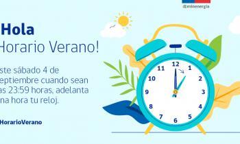 Seremi de Energía de Aysén recuerda que este sábado 4 de septiembre comienza el horario de verano