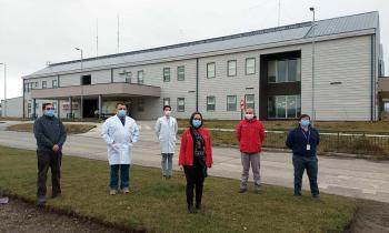 3 medidas que cambiarán el rostro energético del Hospital de Porvenir: Techo fotovoltaico, cogeneración y luminarias LED