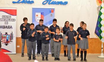 Iniciativa permitirá que alumnos de Huara adquieran conocimientos en energía
