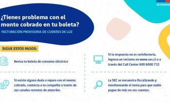 SEREMI de Energía Nolberto Sáez, entrega recomendaciones para resolver reparos en facturación provisoria produ...