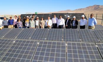 Ministro de Energía junto a Intendente conocieron innovación desarrollada en  Plataforma Solar del Desierto de...