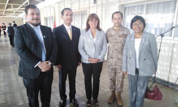 Seremi de Energía asiste a Cambio de Mando de la Guarnición Militar de Arica