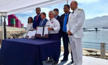 Acuerdo de Producción Limpia se celebra en Iquique
