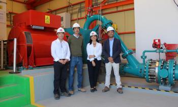 Minihidro de Alto Hospicio inyecta energía limpia al Sistema Energético Nacional