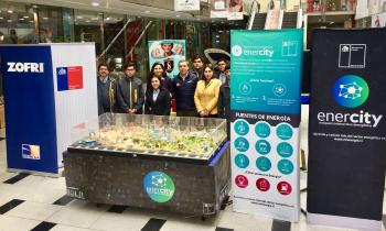 Enercity recorrió Iquique el mes de agosto