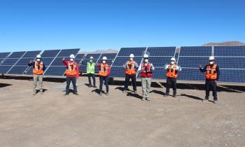 En Atacama Subsecretario de Energía recorrió el proyecto solar fotovoltaico más grande que se construye hoy en Chile